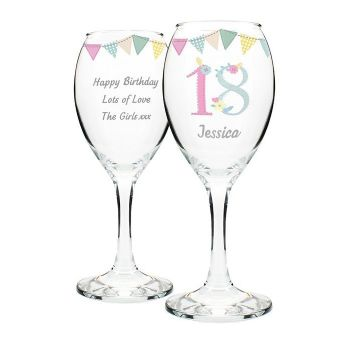 Birthday Craft Wine Glass